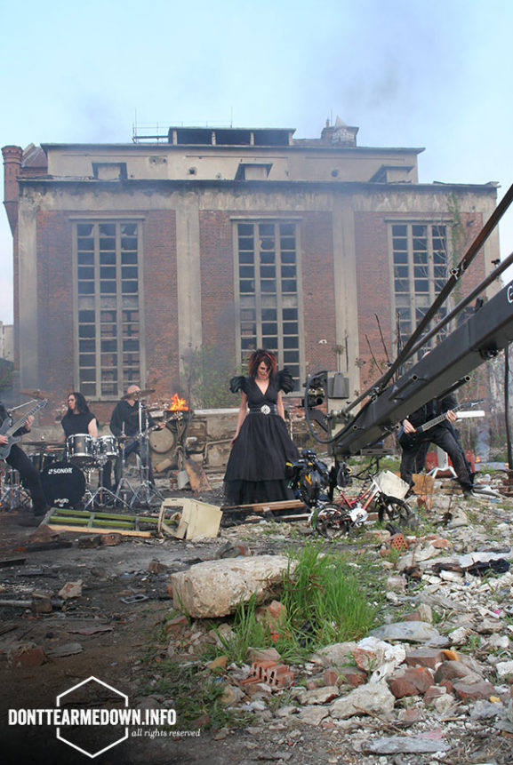 Within Temptation Behind Scenes Howling Music Video
