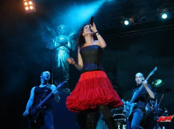 Within Temptation SZIN Festival Szeged Hungary 2008