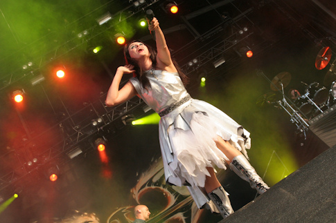 Within Temptation Highfield Germany Live 2012