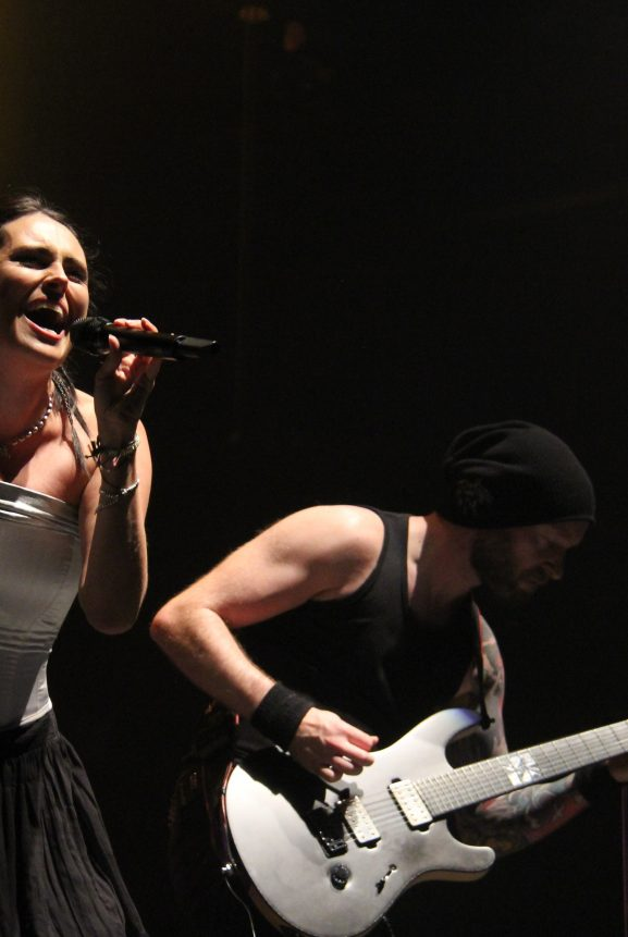Dutch Rock Metal Within Temptation Live Los Angeles Nokia