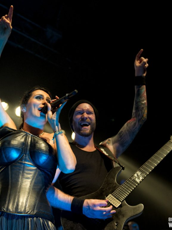 Dutch Rock Within Temptation Rams Head Baltimore USA Live