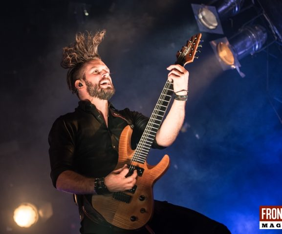 Dutch Band Within Temptation Ribs Blues Festival Live