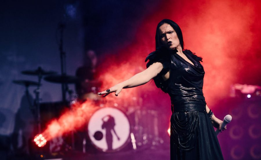Sharon den Adel performs with ex Nightwish Tarja Turunen Metalfest 2017