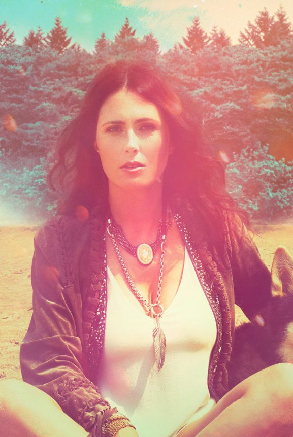 Within Temptation singer Sharon den Adel with her personal project My Indigo -2017