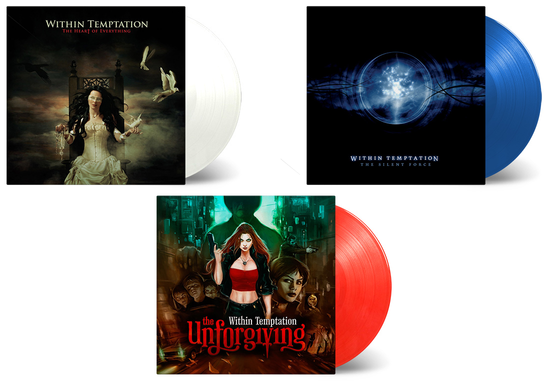 Old Within Temptation albums on VINYL LP