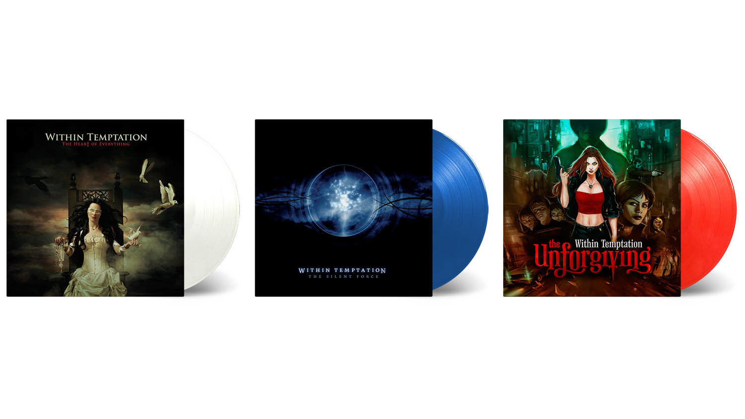 Within Temptation coloured vinyl LP