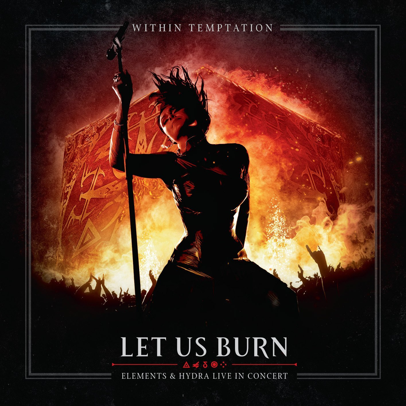 Within Temptation Let Us Burn Hydra and Elements Live In Concert CD DVD