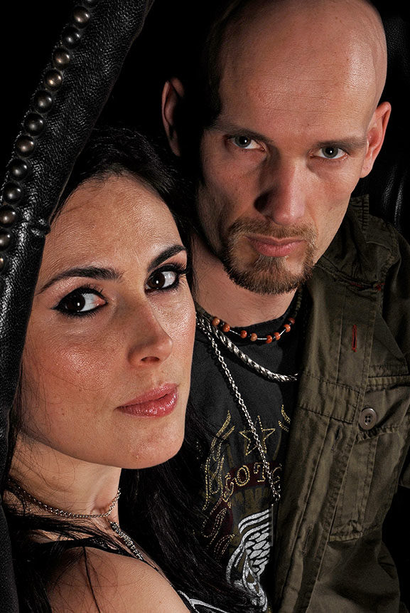 Within Temptation Photo Galleries Photo Session Classic Rock Magazine