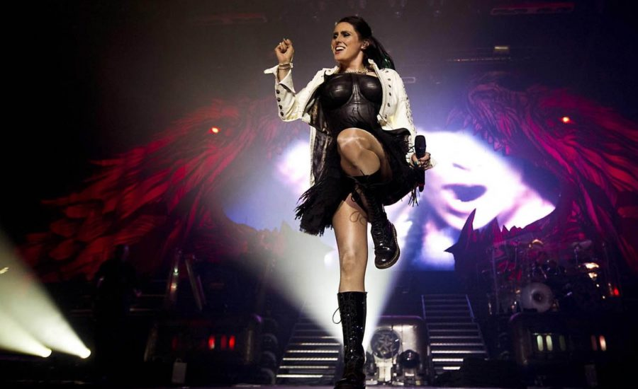 Sharon den Adel of Within Temptation live on tour Hydra Tarja Turunen (2)