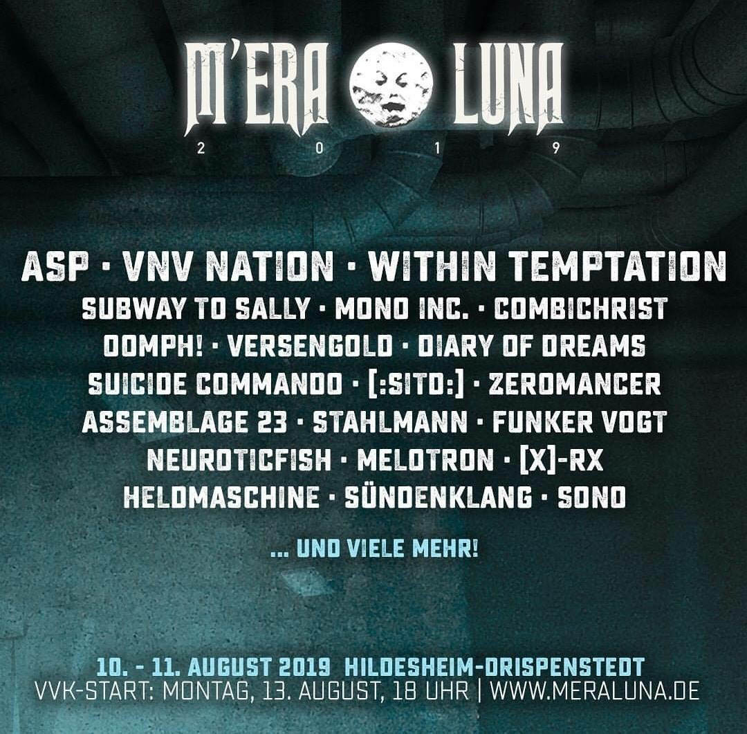 M'era Luna 2019 Within Temptation Festival