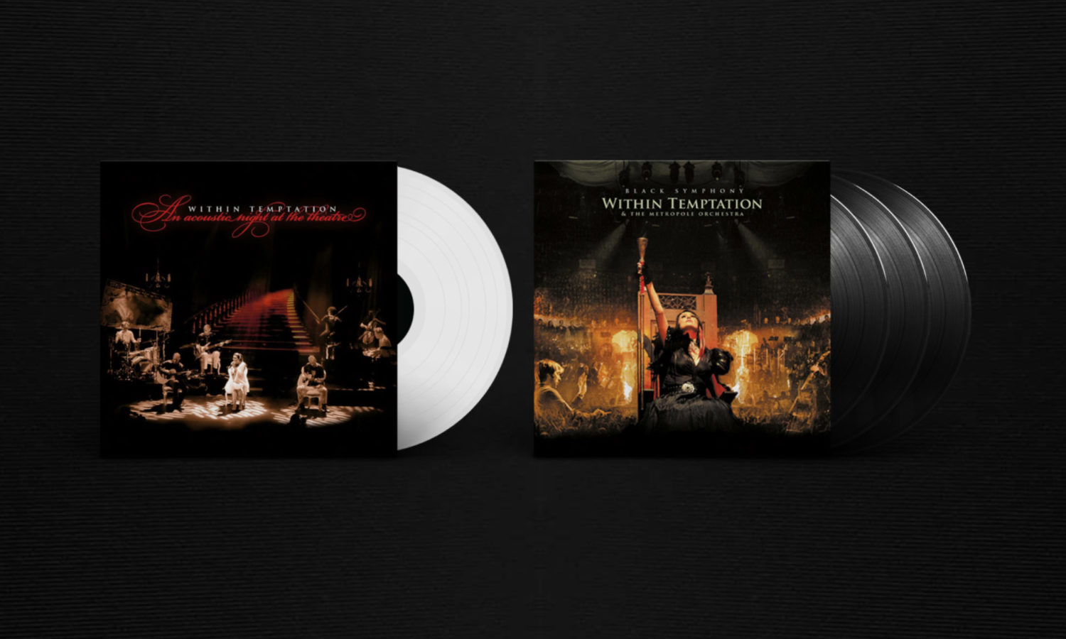 Within Temptation Reissue Sony Music Vinyl LP Acoustic Night Theatre Black Symphony 2018-1
