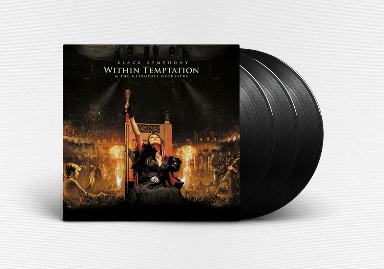 Within Temptation Sony BMG Reissue Black Symphony Live Vinyl LP