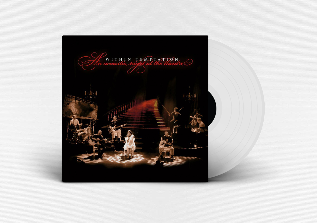 Within Temptation reissue An Acoustic Night At The Theatre Clear Vinyl LP Sony Music 2018