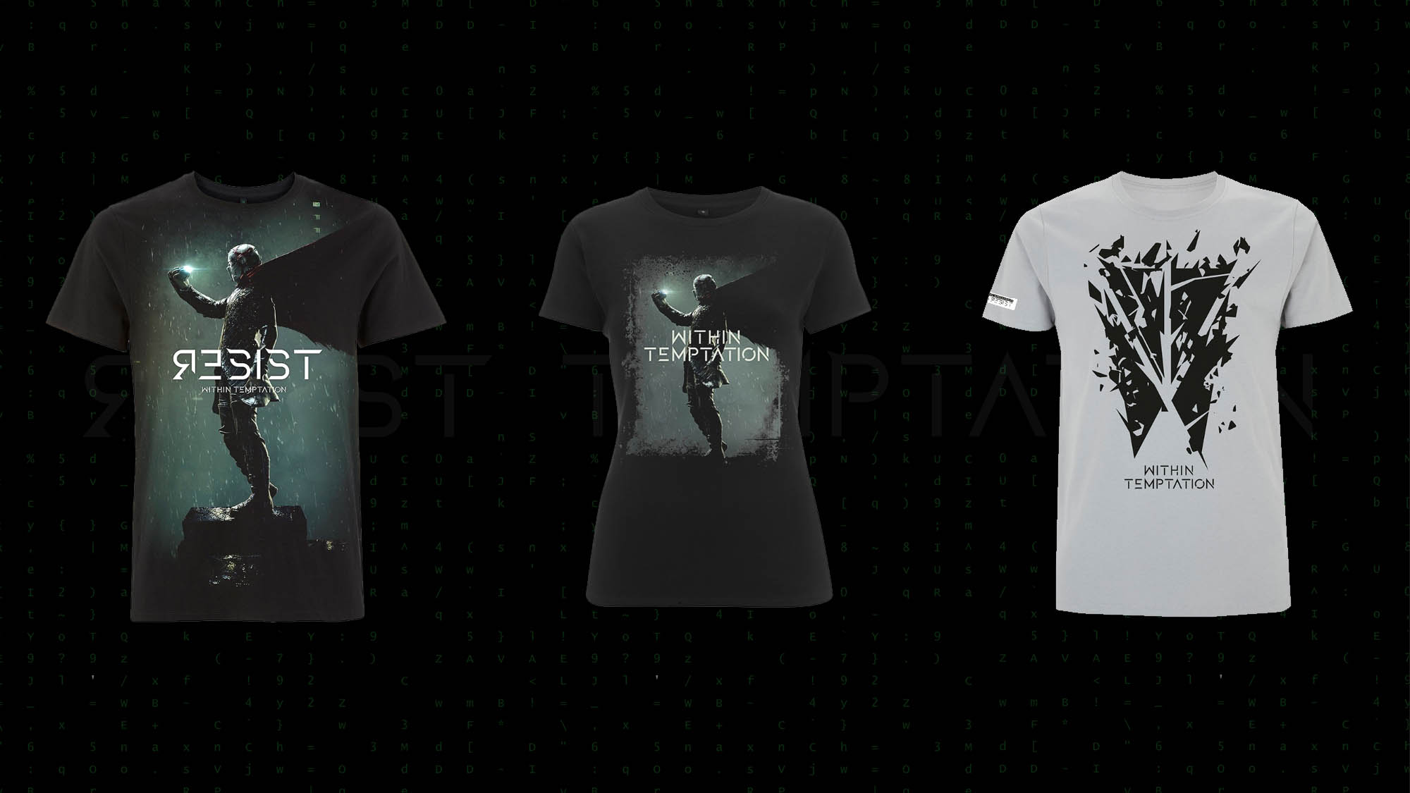 New Within Temptation RESIST Merchandise 2018