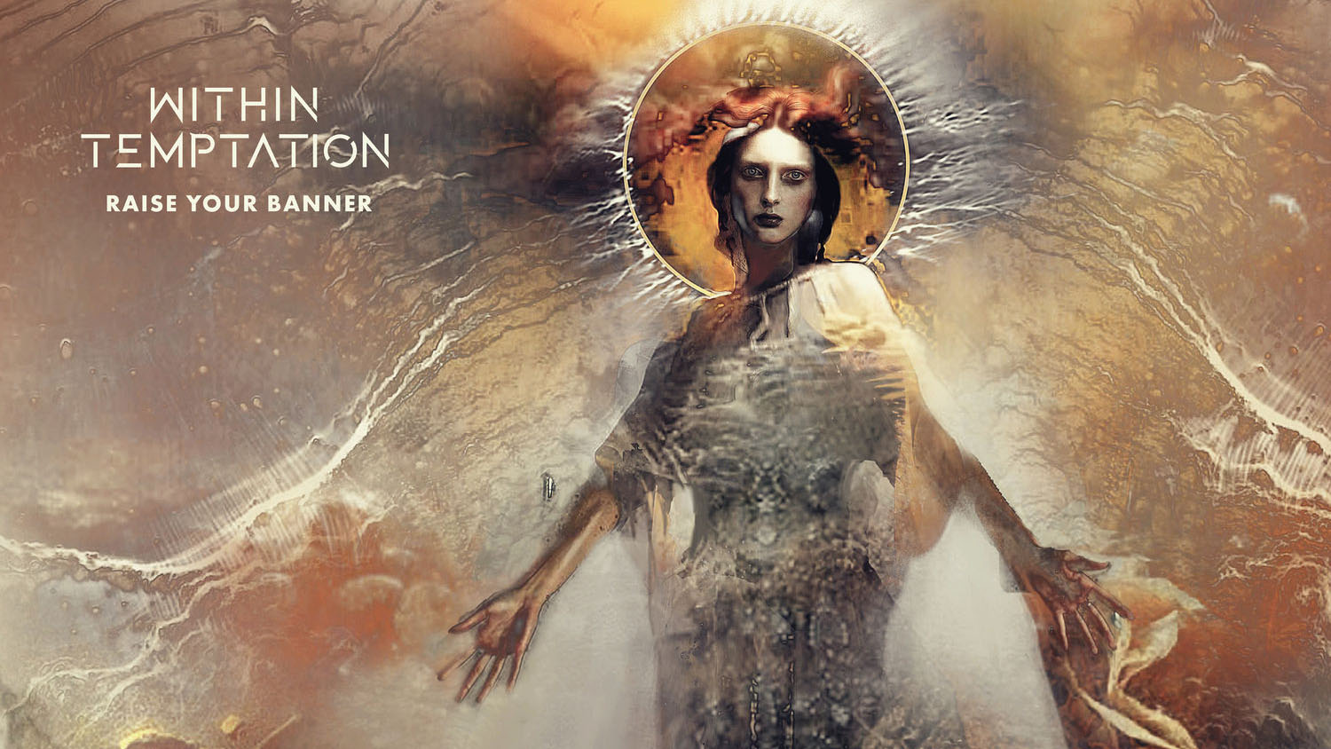 Within Temptation CD Single 2018 Raise Your Banner Anders Friden RESIST Album