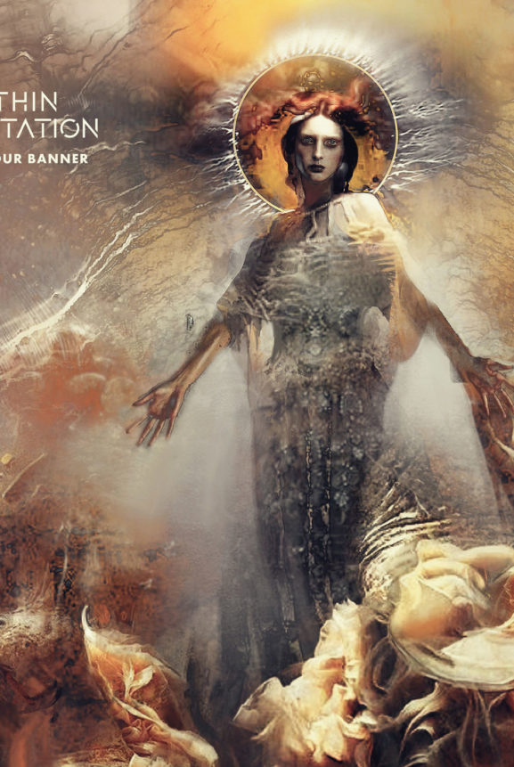 Within Temptation 2018 single Raise Your Banner In Flames Anders Friden album RESIST
