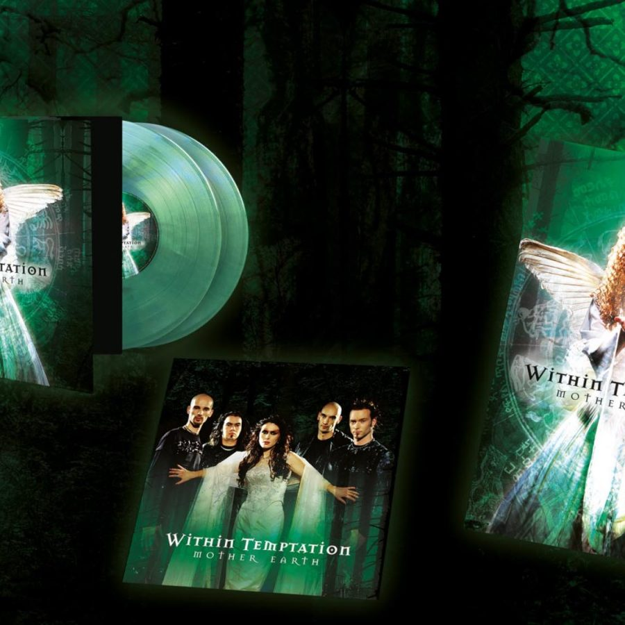 Mother Earth LP Vinyl Within Temptation