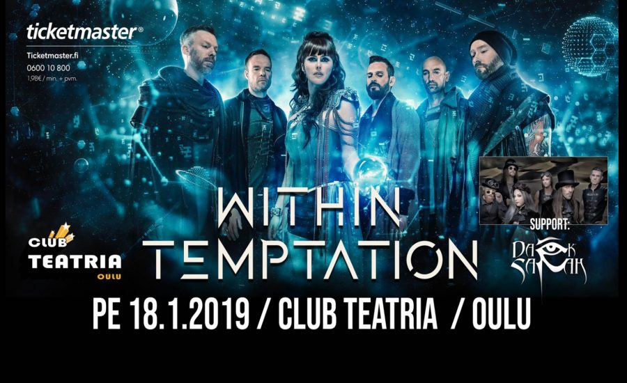 Within Temptation RESIST Live 2019 Oulu Finland Dark Sarah