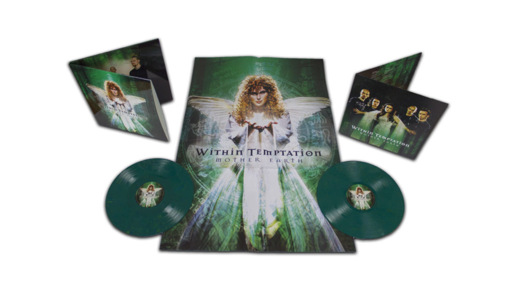 Within Temptation limited edition Mother Earth vinyl LP