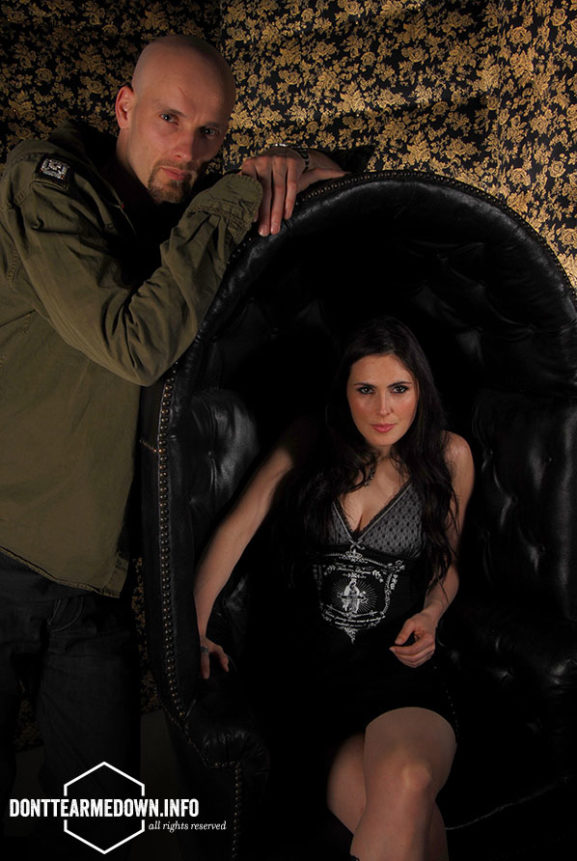 Sharon Den Adel Robert Westerholt Within Temptation Classic Rock Magazine 2007