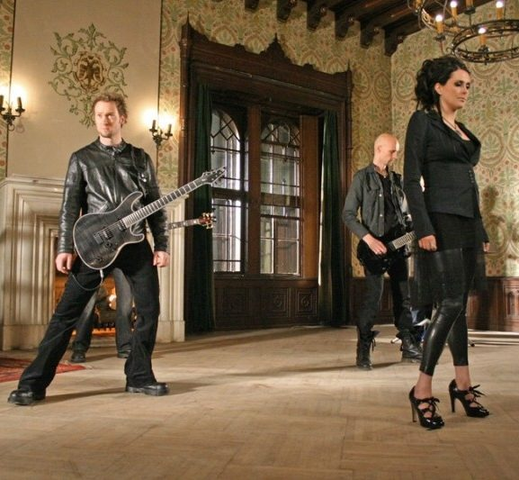 Behind The Scenes Within Temptation Music Video Frozen