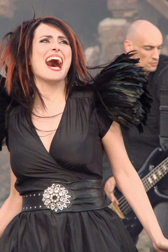 Behind The Scenes Within Temptation Music Video Howling