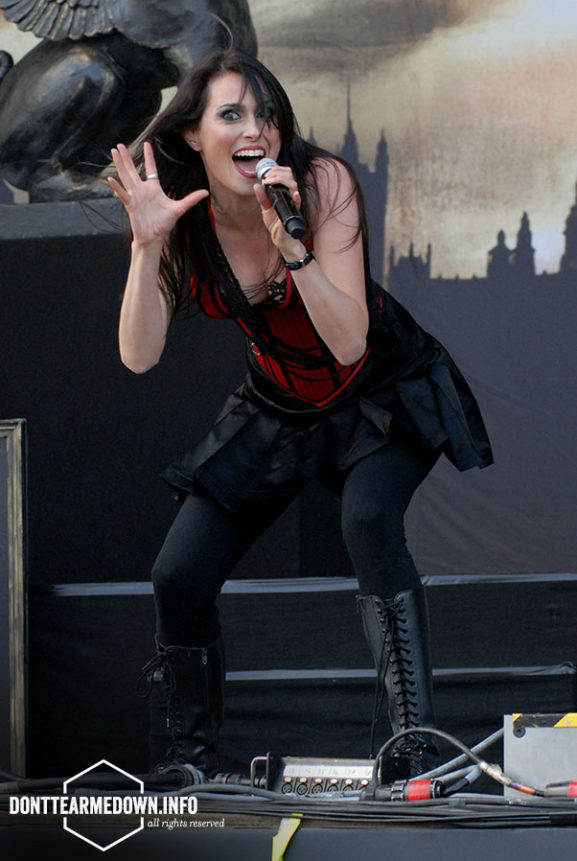 Within Temptation Download Festival Live 2008