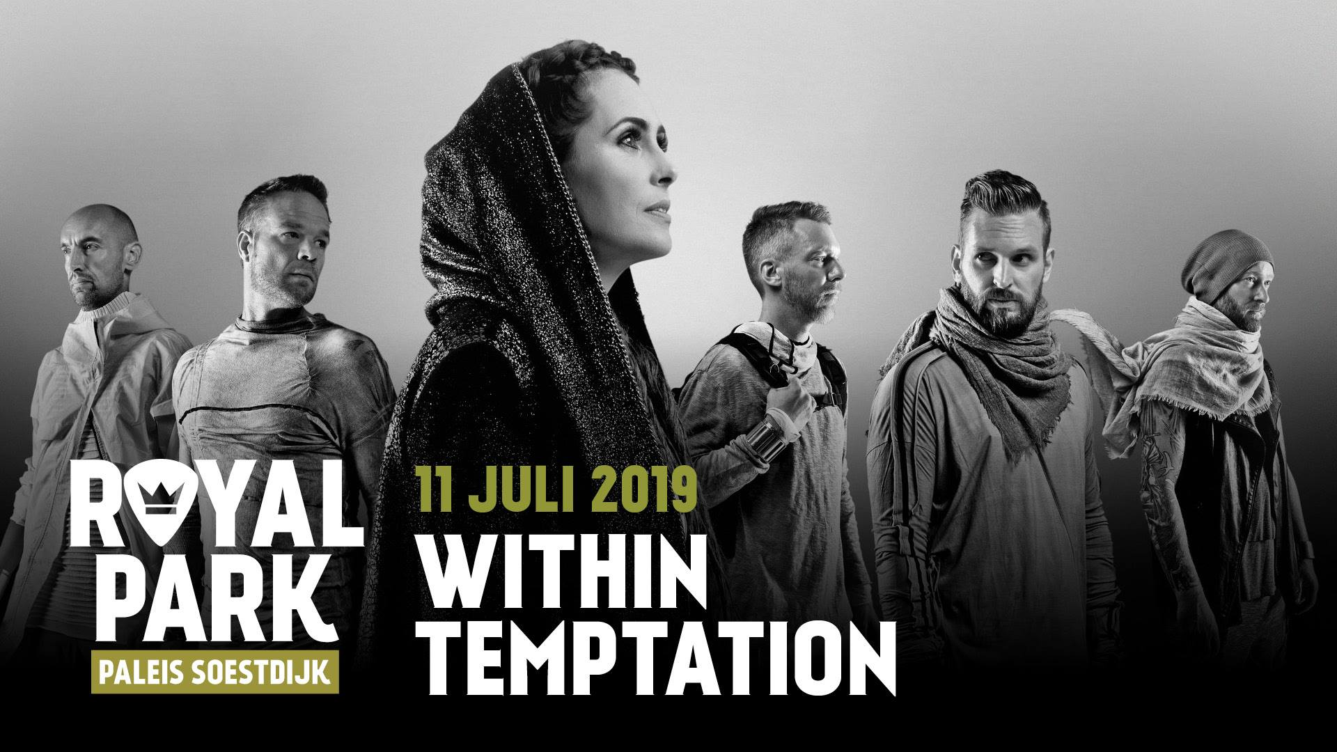 Poster Royal Park Live Within Temptation