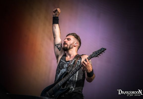 Stefan Helleblad Within Temptation Hellfest