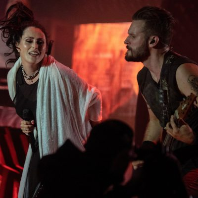 Sharon den Adel Stefan Helleblad Within Temptation Resurrection Fest Live
