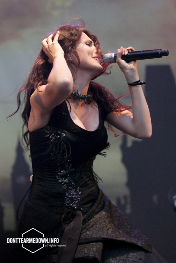 Sharon den Adel Within Temptation Live Gampel Open Air