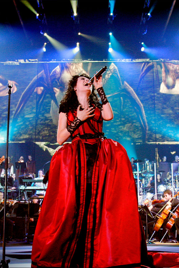 Sharon den Adel Within Temptation Black Symphony Live 2008 Rotterdam